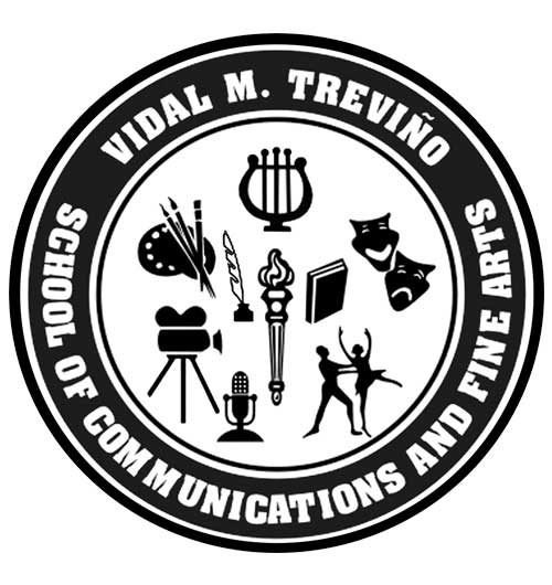Vidal M. Treviño School of Communications and Fine Arts Logo