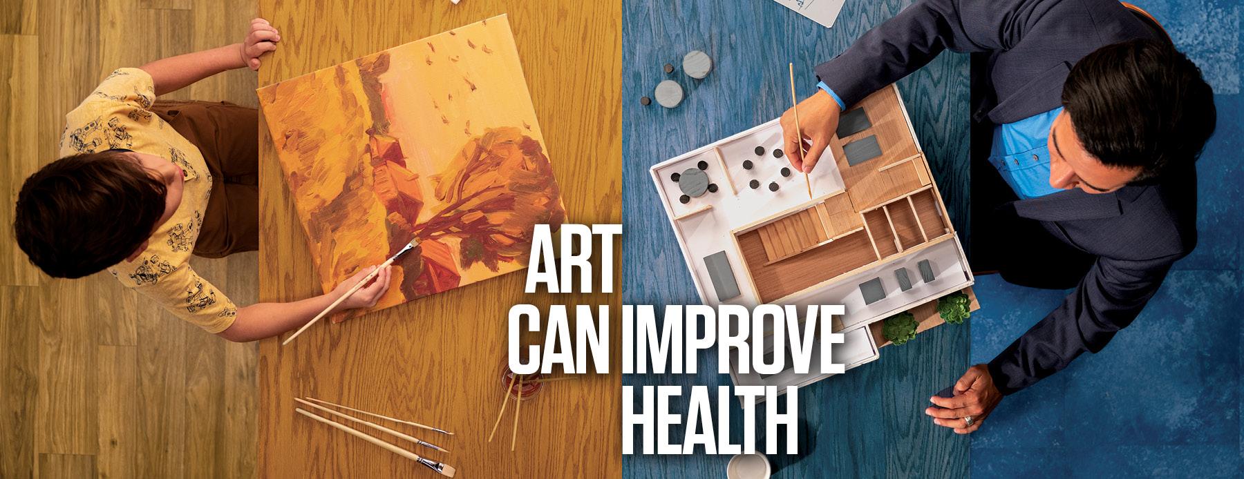 Art Can Improve Health